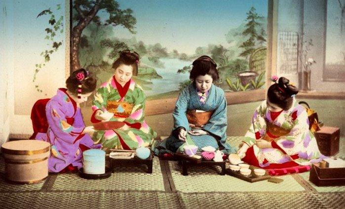 Чай у японцев